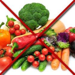 Убрать или накрыть все пищевые продукты