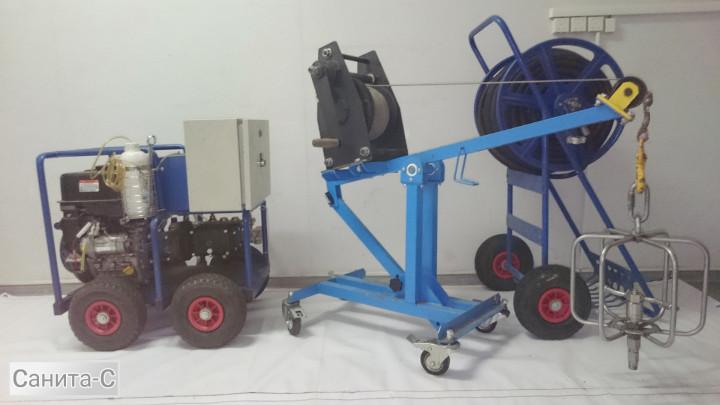 Оборудование для очистки мусоропроводов