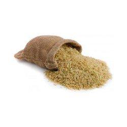 Прогрызенный мешок с рисом