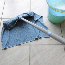 Провести влажную уборку